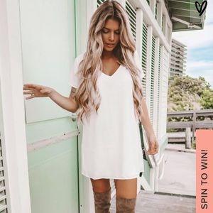 Lulus white dress!